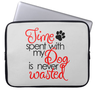 Quality Dog Time Laptop Sleeve