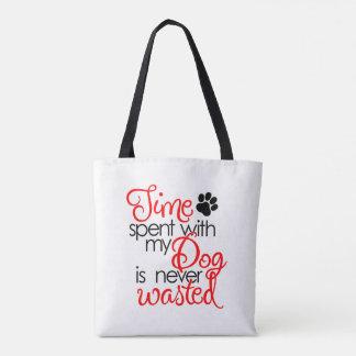 Quality Dog Time Tote Bag