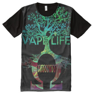 Quality Full Print Vape Life Shirt