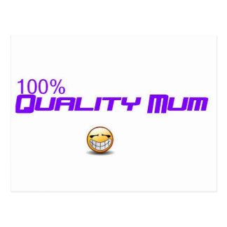 quality mum postcard