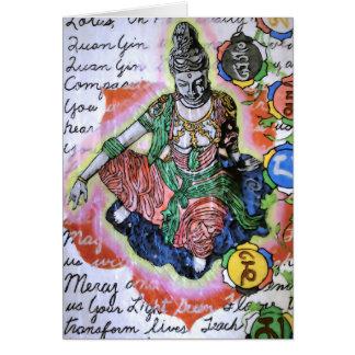 Quan Yin God/Goddess of Compassion Card