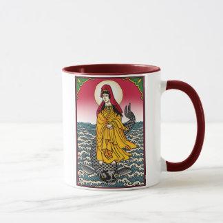 Quan Yin with Dharmachakra Mug