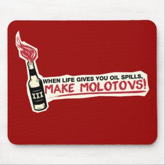 quand la vie vous donne les flaques d'huile font l tapis de souris