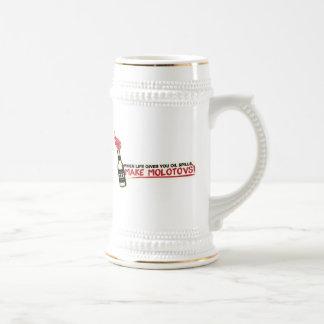 quand la vie vous donne les flaques d'huile font l mug