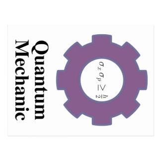 quantum mechanic post cards