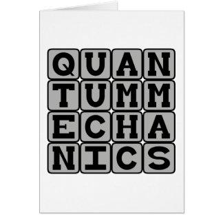 Quantum Mechanics, Physics Concept Greeting Cards