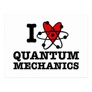 Quantum Mechanics Postcard