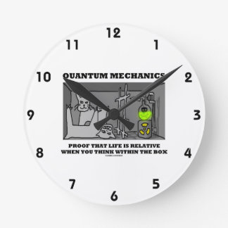 Quantum Mechanics Proof That Life Is Relative Round Clock