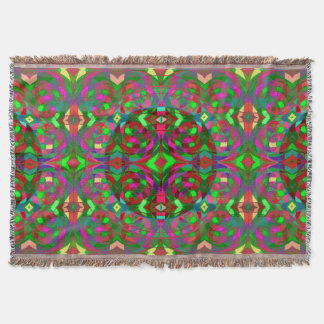 Quantum Portal C Open Position Throw Blanket