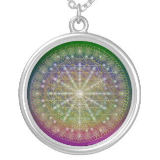 Quantum Silver Plated Necklace