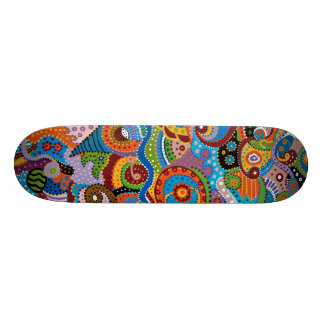 Quantum Strands Skateboard Deck