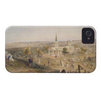 Quarantine Cemetery and Church, plate from 'The Se iPhone 4 Case-Mate Case