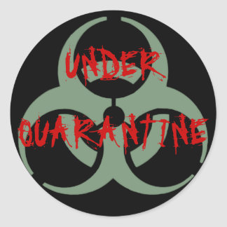 Quarantine Sticker