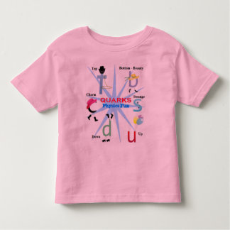 Quarks Particle Physics Fun - Science for kids Toddler T-shirt