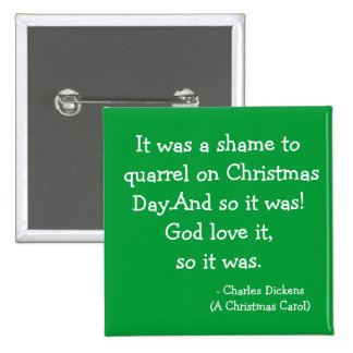 Quarrel-The Scrooge Collection 2 Inch Square Button