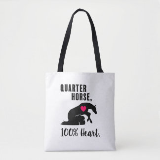 Quarter Horse, 100% Heart - Reiner Tote Bag