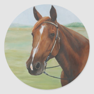 Quarter Horse Art Sticker