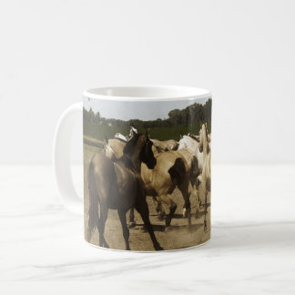 Quarter Horse Herd Coffee Mug
