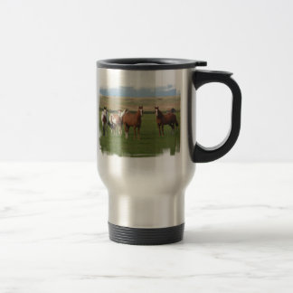 Quarter Horse Herd Stainless Travel Mug