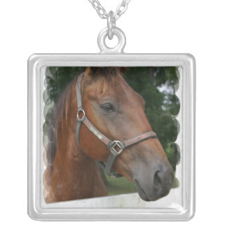 Quarter Horse Photo Necklace