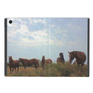 Quarter Horses Cover For iPad Mini