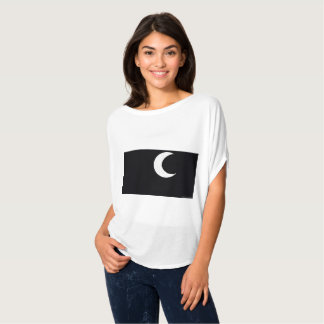 quarter moon women's t shirt