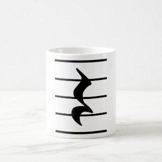 quarter rest coffee mug
