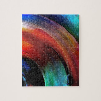 Quarter Round Colors Jigsaw Puzzle