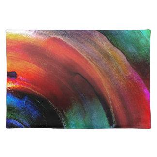Quarter Round Colors Placemat