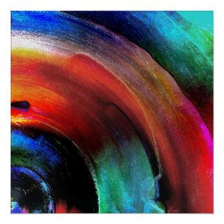 Quarter Round Colors Poster