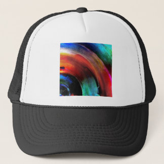 Quarter Round Colors Trucker Hat