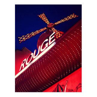 Quartier Pigalle Paris Nightlife postcard