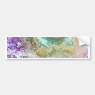 Quartz Candy Crystals Bumper Sticker