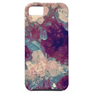 quartz crystal gem cluster iPhone 5 cover