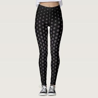 Quartz Techno Dot Pattern Leggings