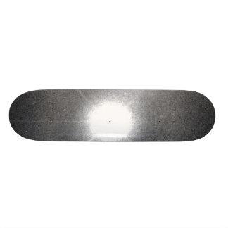 Quasar Lies in Core of Colliding Galaxy Skateboards