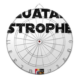 QUATAR STANZA - Word games - François City Dartboard
