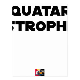 QUATAR STANZA - Word games - François City Postcard
