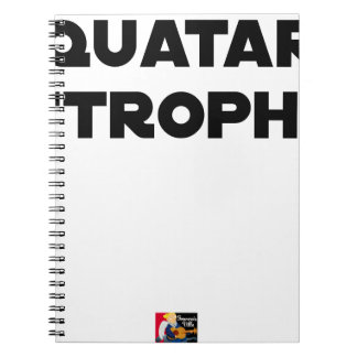 QUATAR STANZA - Word games - François City Spiral Notebook