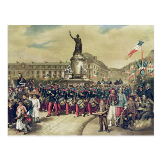 Quatorze Juillet, 1881 Postcard