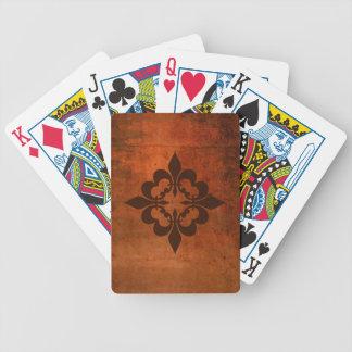 Quatre Fleur de Lis Bicycle Playing Cards