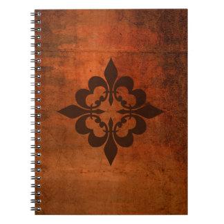 Quatre Fleur de Lis Notebooks
