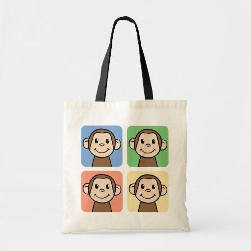 Quatre singes sac