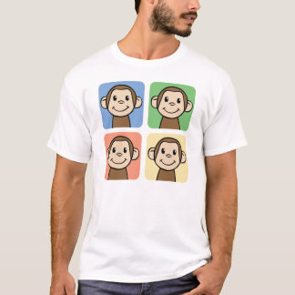 Quatre singes t-shirt