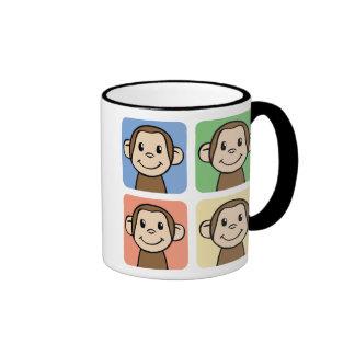 Quatre singes tasse à café