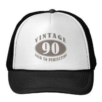 Quatre-vingt-dixième cadeaux d anniversaire de cru casquettes