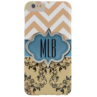 Quatrefoil Artwork & Monogram by Leslie Harlow Barely There iPhone 6 Plus Case