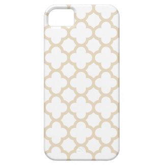 Quatrefoil iPhone 5/5S Case \ Ivory