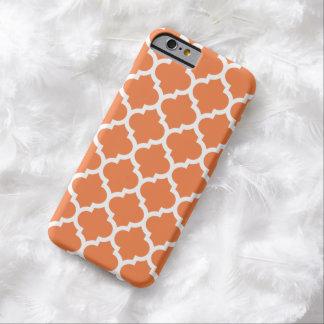 Quatrefoil iPhone 6 Case in Celosia Orange
