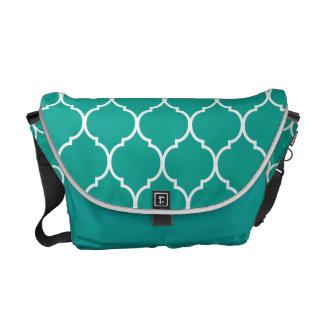 Quatrefoil Pattern Commuter Bags